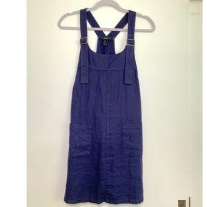 Forever 21 Overall Dress with Adjustable Straps